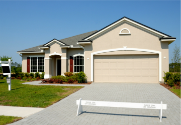 Picture of model home